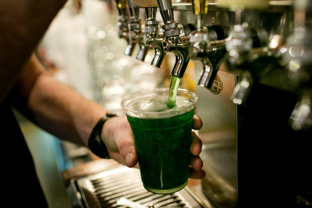 Is green beer really appealing to anyone? (AP Photo)