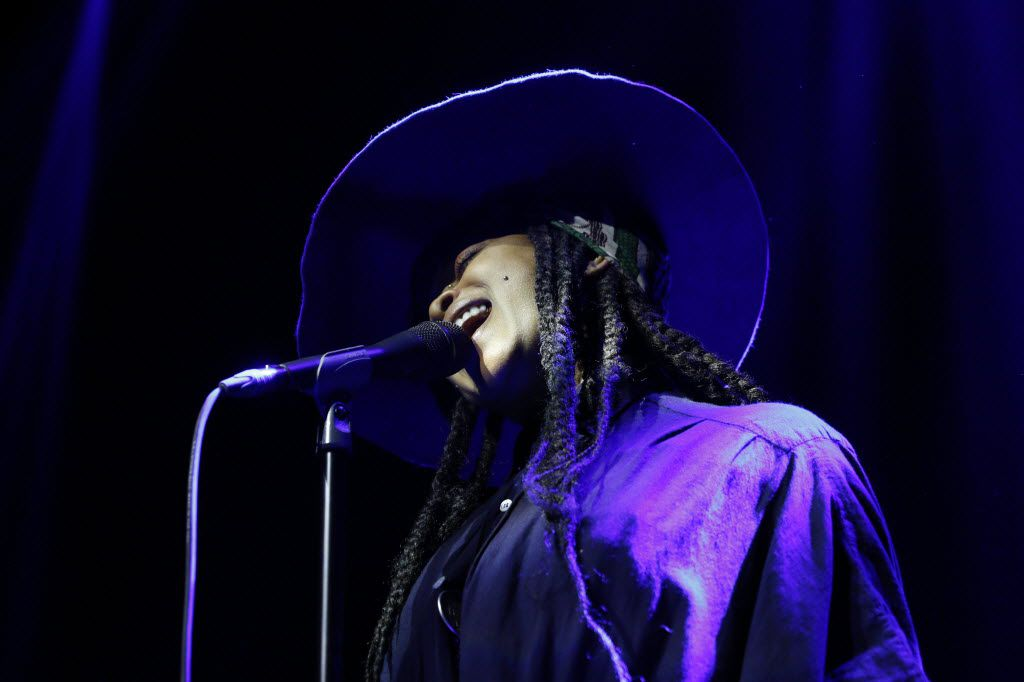 Erykah Badu began her career playing Deep Ellum clubs --most, smaller than The Bomb Factory (Rose Baca/Staff photographer)