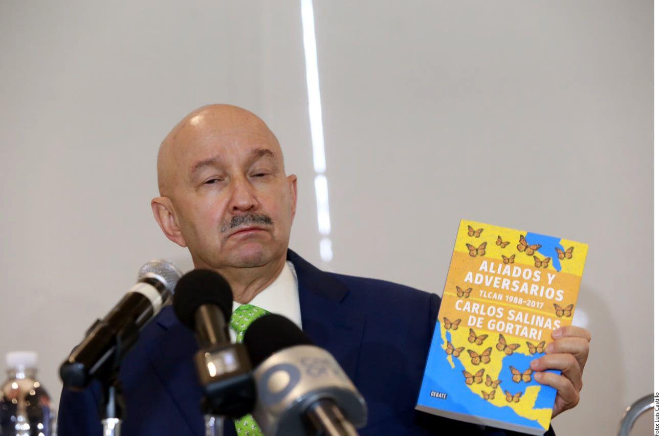 Carlos Salinas de Gortari. AGENCIA REFORMA