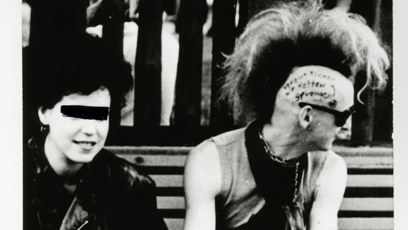 Stasi surveillance photos of East German punks, from Tim Mohr's Burning Down the Haus.