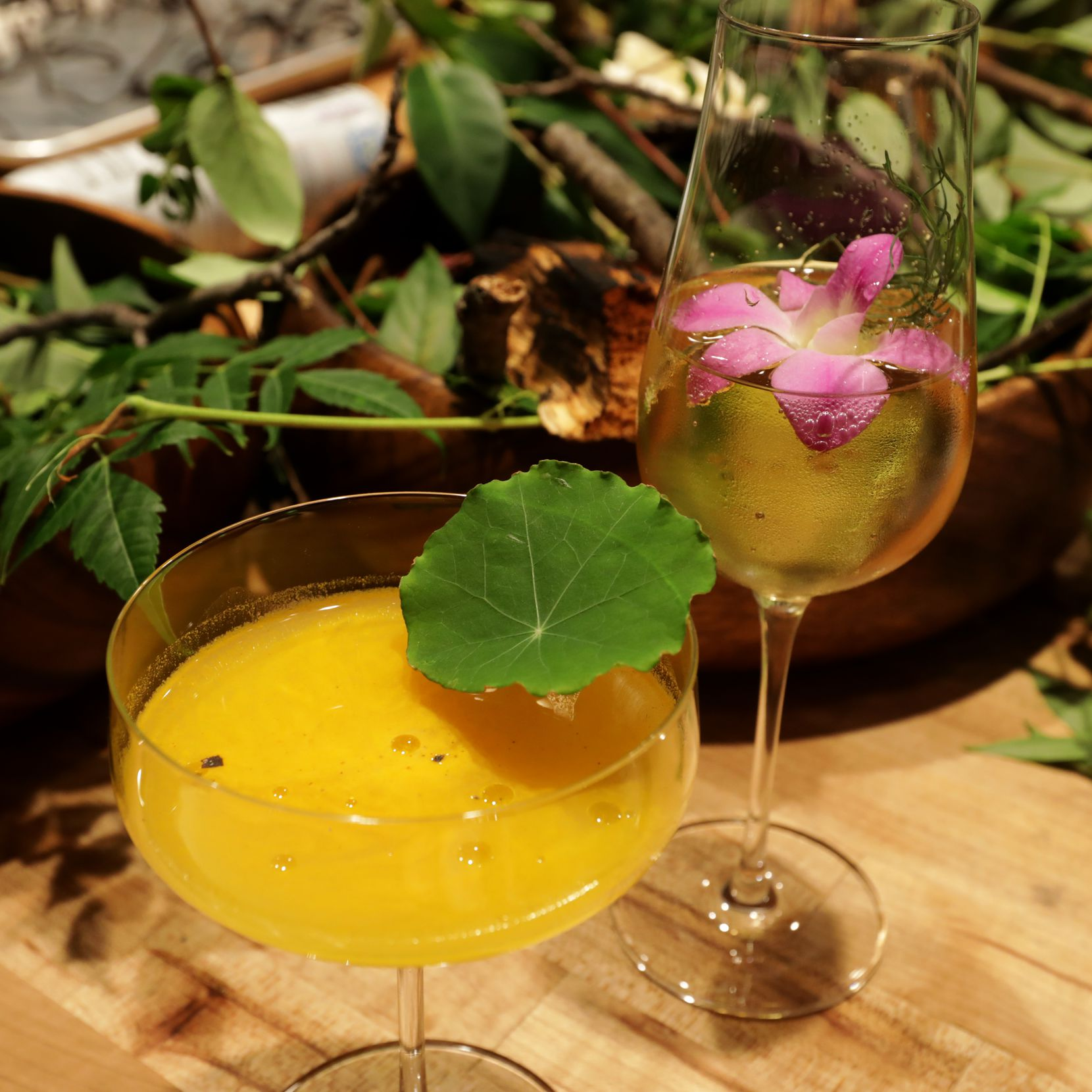 The staff creates unique coctails to go with each new menu at Fauna in Dallas, TX, on Oct. 26, 2019. (Jason Janik/Special Contributor)