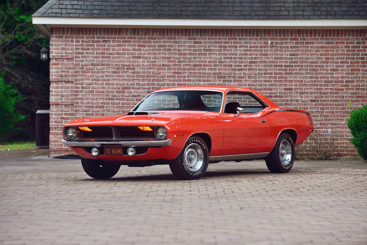 Lot S93 1970 Plymouth Hemi Cuda (Mecum)