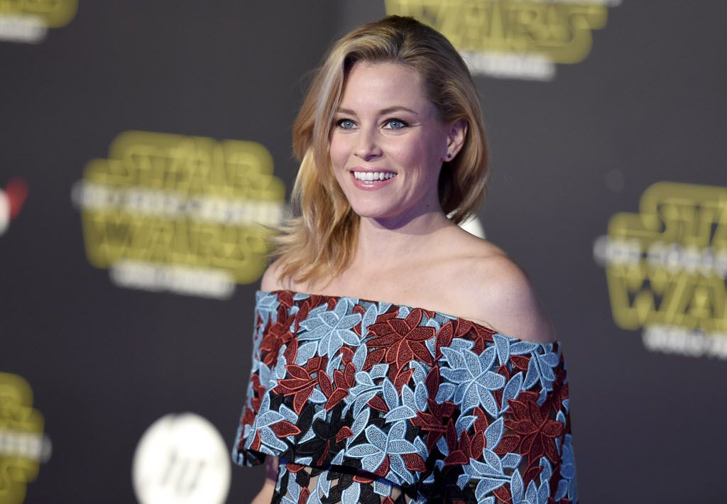"""Elizabeth Banks arrives at the world premiere of """"Star Wars: The Force Awakens"""" at the TCL Chinese Theatre on Monday, Dec. 14, 2015, in Los Angeles."""