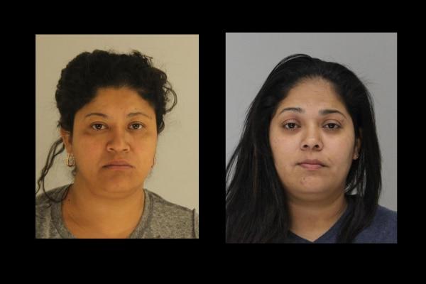 Mirian Zelaya Gómez y MIrna Zelaya Gómez fueron arrestadas por un incidente de violencia doméstica. CÁRCEL DEL CONDADO
