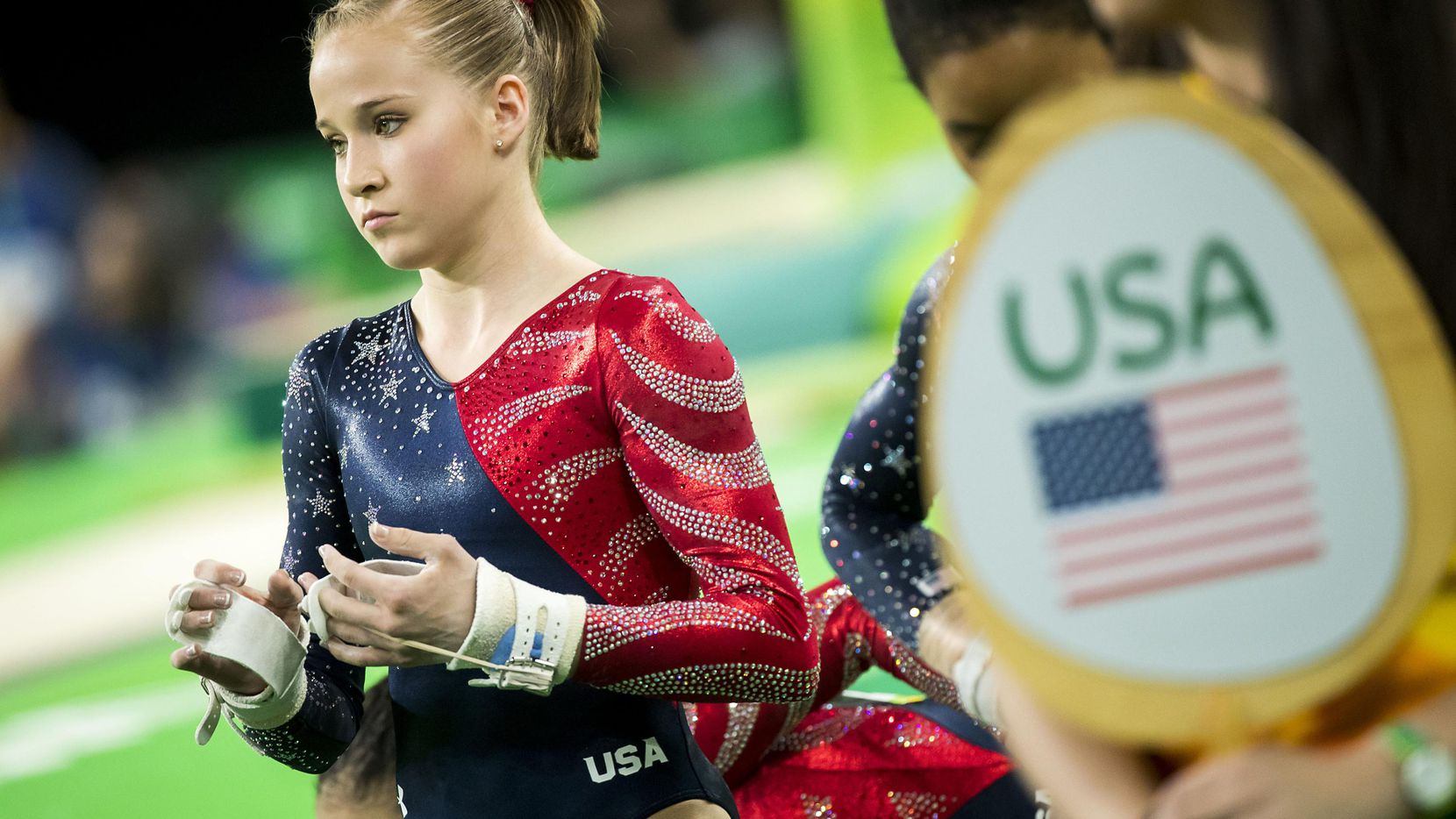 La gimnasta de Dallas, Madison Kocian, reveló que fue víctima de abuso de Larry Nassar, doctor de USA Gymnastics. (DMN/Smiley N. Pool)