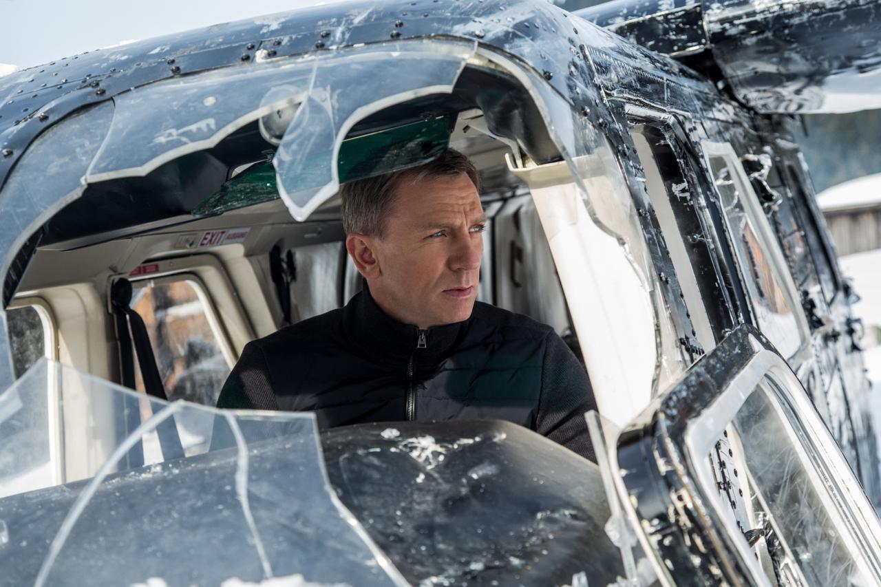 """Daniel Craig en su caurto filme como James Bond, """"Spectre"""" (AP/COLUMBIA PICTURES)"""