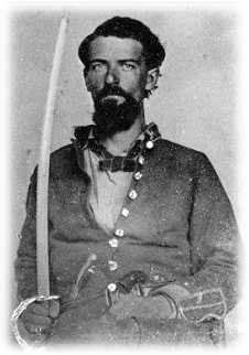 Capt. Pleasant G. Swor is among the Confederate States Army veterans buried in the Garvin Memorial Cemetery.