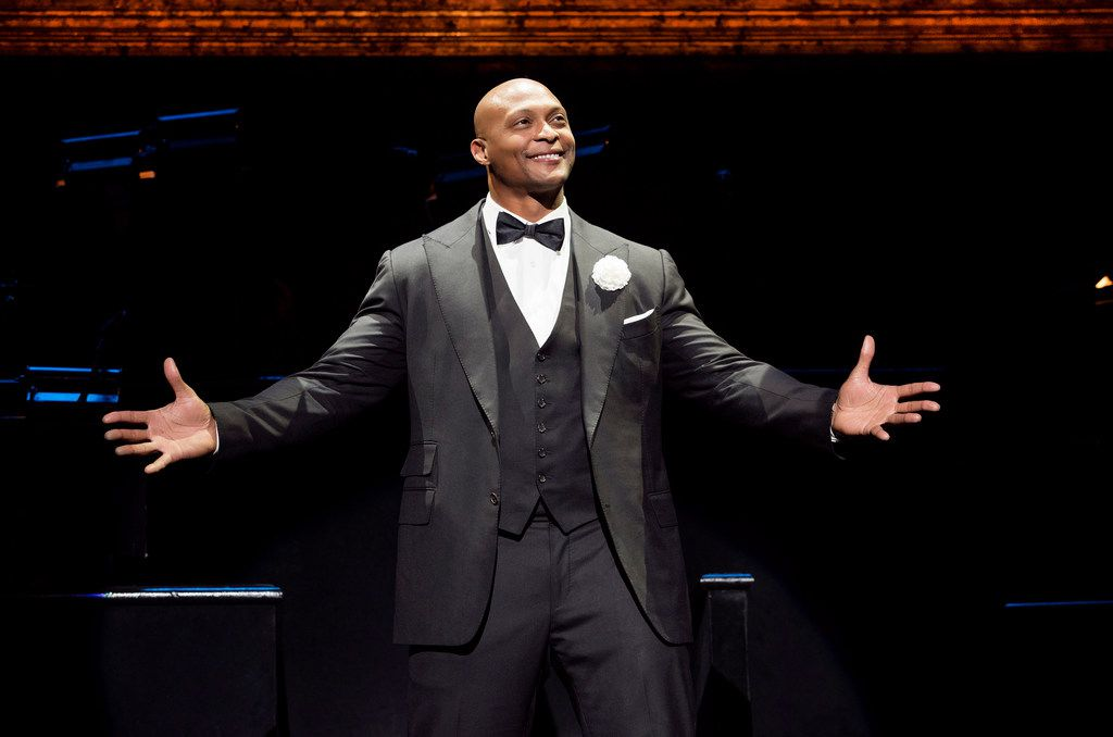 Eddie George plays Billy Flynn in the national tour of Chicago, presented by AT&T Performing Arts Center Dec. 18-23 at Winspear Opera House.