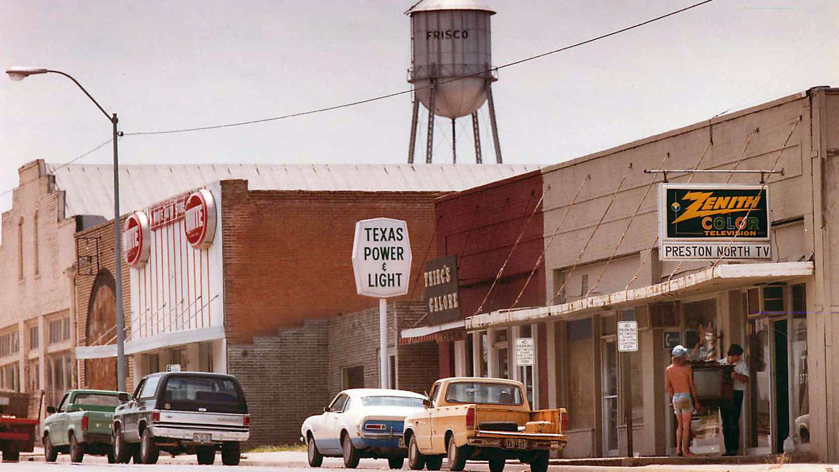 A look at Frisco, Texas, circa 1984 (John F. Rhodes / DMN)
