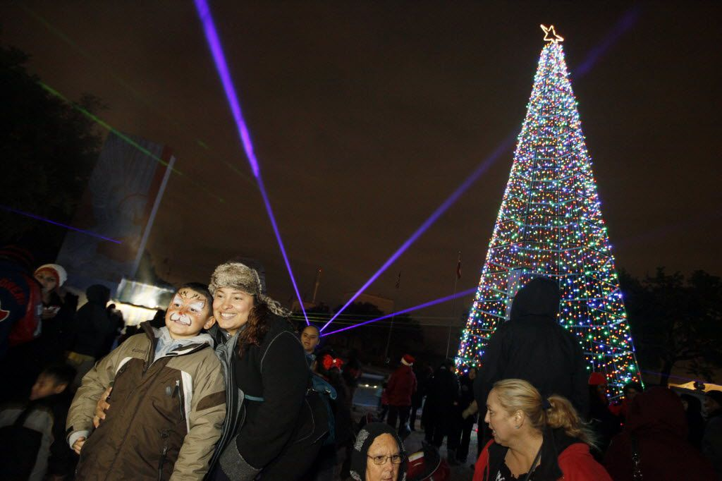 This year, Fair Park Holiday Delights moves into Marine Square and will include visits from Santa and Mrs. Claus and music by the Dallas Wind Symphony Tuba Quartet and Townview High School's marching band.