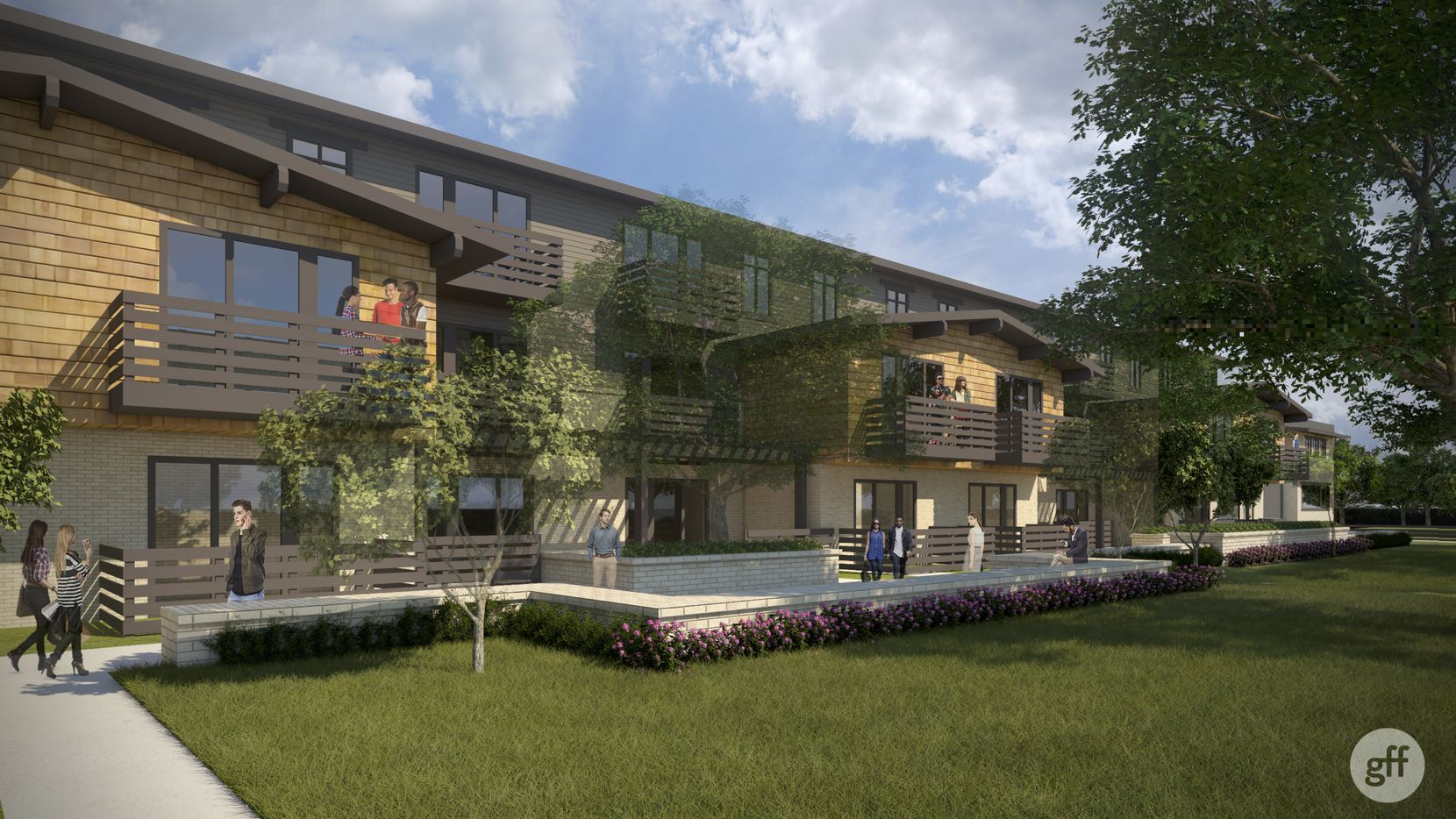 Trammell Crow Residential's new Alexan Lower Greenville apartments were designed by GFF