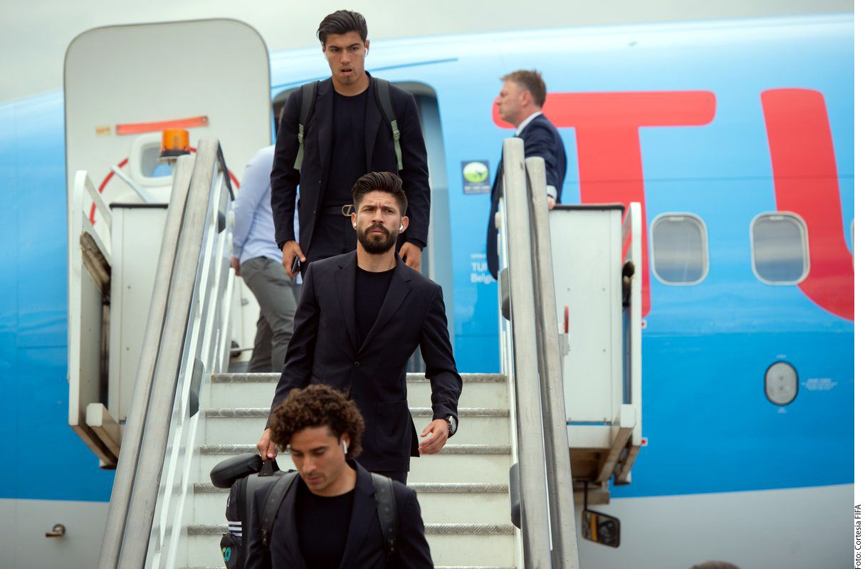 La selección mexicana está en Rusia para el Mundial. Foto Agencia Reforma