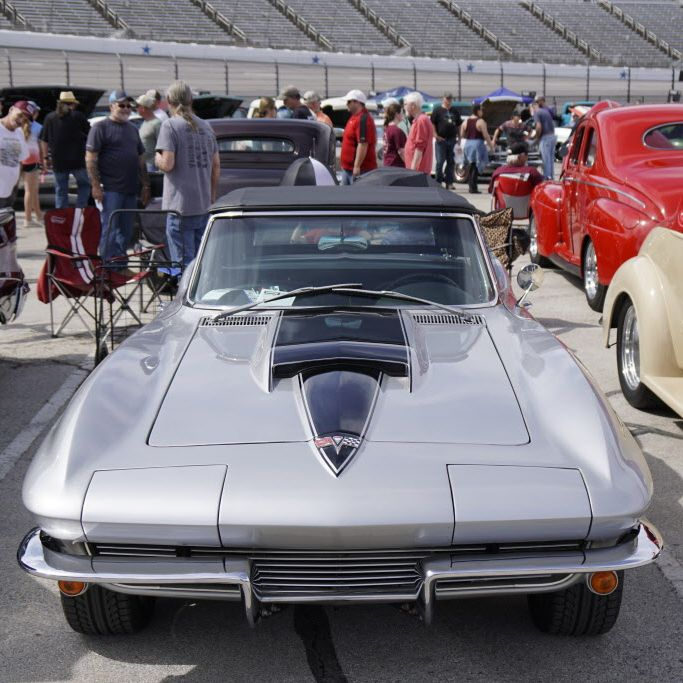 Custom cars and hotrods of all makes and models could be found at Good Guys 8th Spring Lone Star National car show at Texas Motor Speedway.