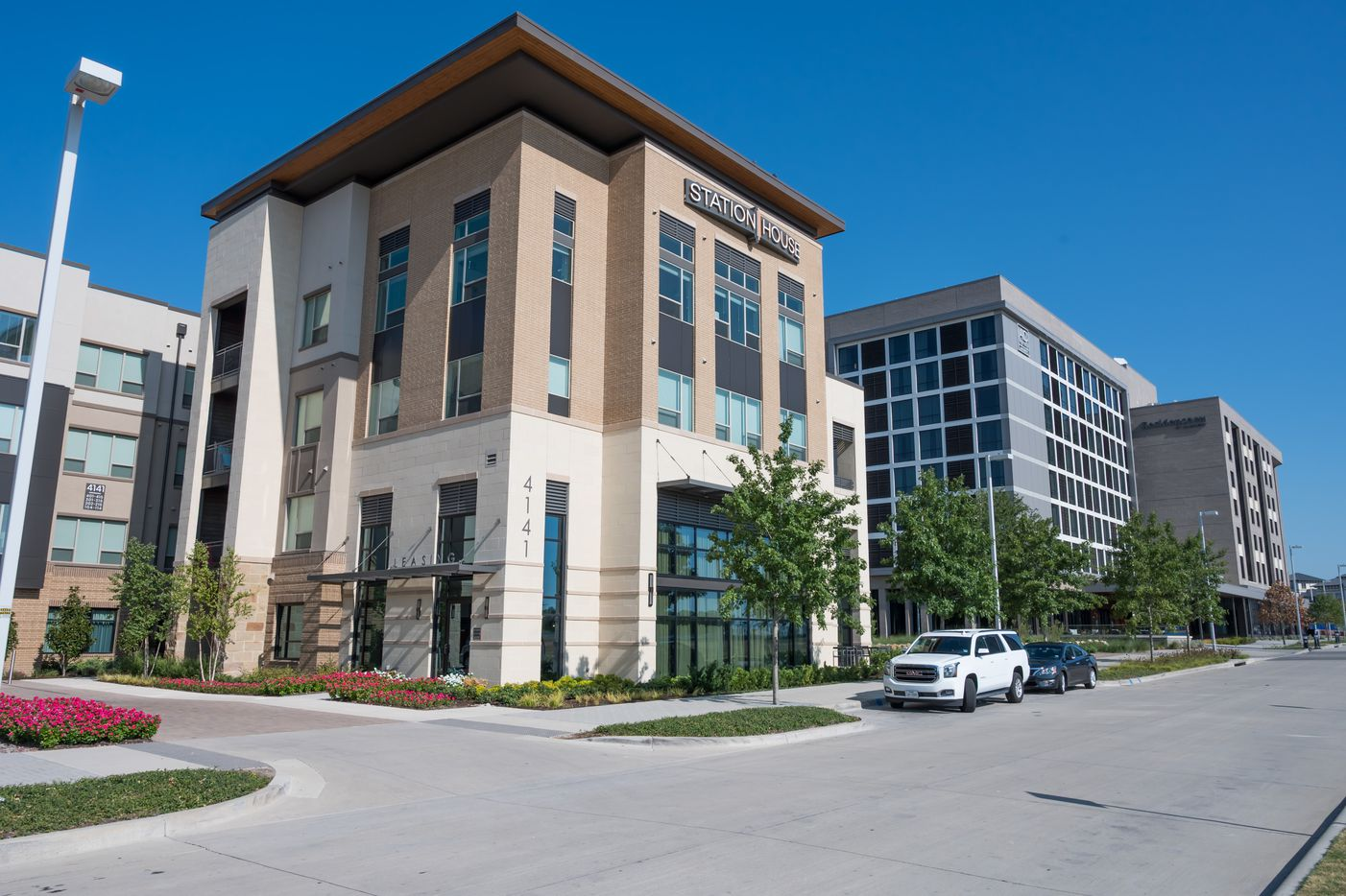 The Station House apartments in Frisco Station are 95% leased.