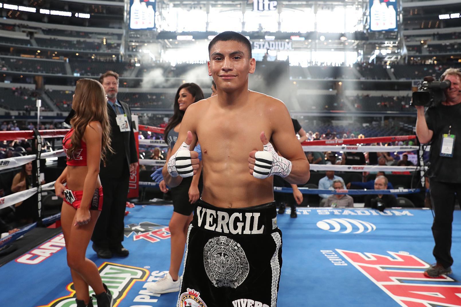 Vergil Ortiz, de Dallas.