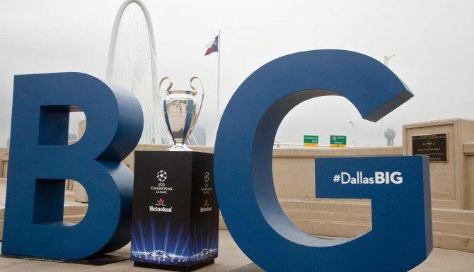 El trofeo de la Champions visita Dallas este fin de semana. (GETTY IMAGES/PETER LARSEN)