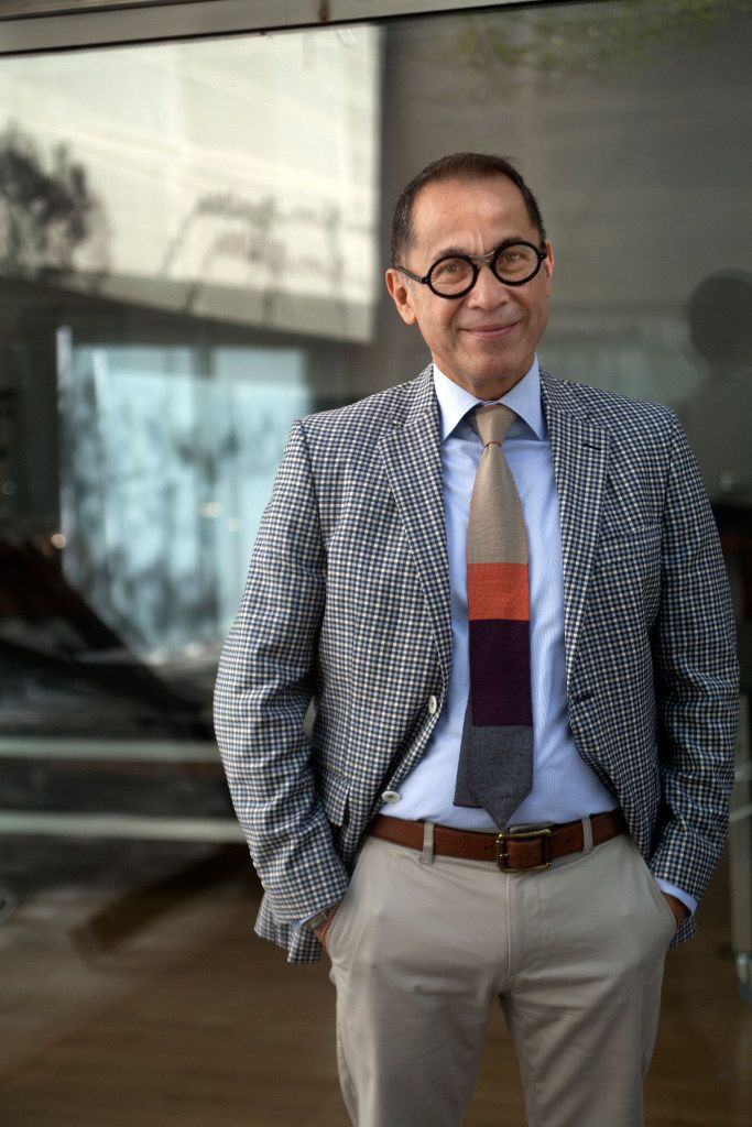 Agustin Arteaga, the director of the Dallas Museum of Art, reacted happily to the news of a $250,000 grant.