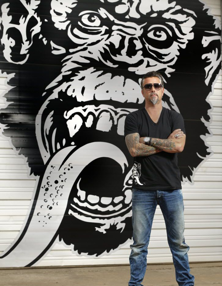 Richard Rawlings, the star of cable TV show Fast 'n Loud and the founder of the growing and greasy Gas Monkey in Dallas May 6, 2015.