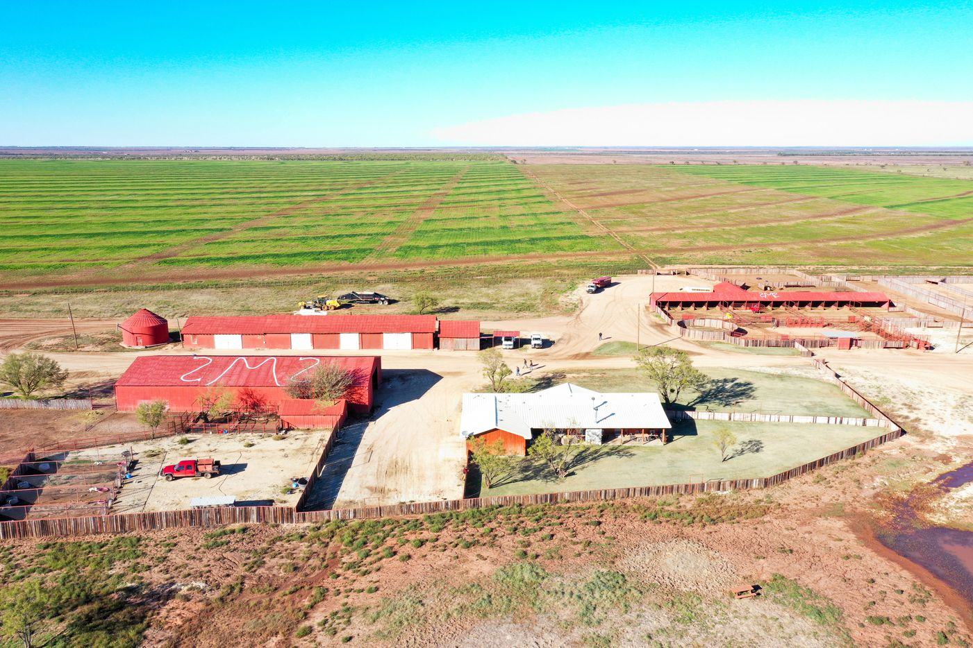The Swenson Flat Top Ranch is a working cattle and farming operation.