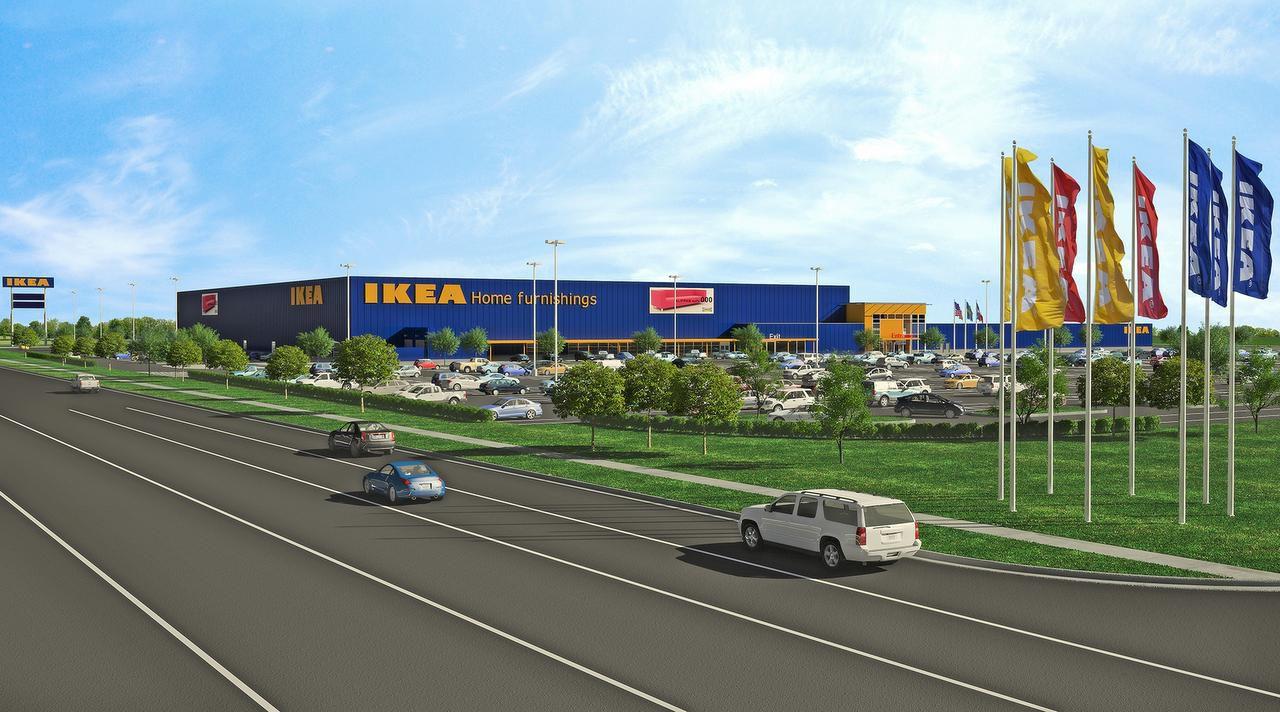 El plan de la nueva tienda de Ikea en Grand Prairie.(IKEA)