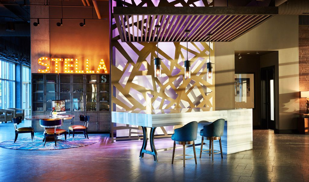 The Stella Hotel in Bryan offers a prix-fixe menu on Valentine's Day, bar specials, a room discount Feb. 13-17 and in-room chocolates and sparkling wine.