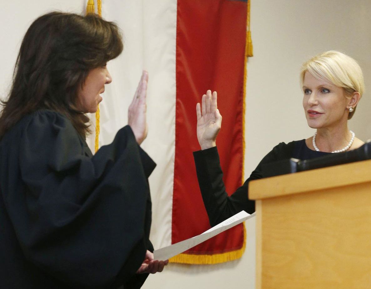 On Jan. 1, Susan Hawk was sworn in as Dallas County district attorney by Justice Molly Francis. It wasn't long before her problems began to surface, including her acknowledgment that she sought help during the campaign to stop taking prescription drugs. She's now taking leave she said she needed to battle severe depression.