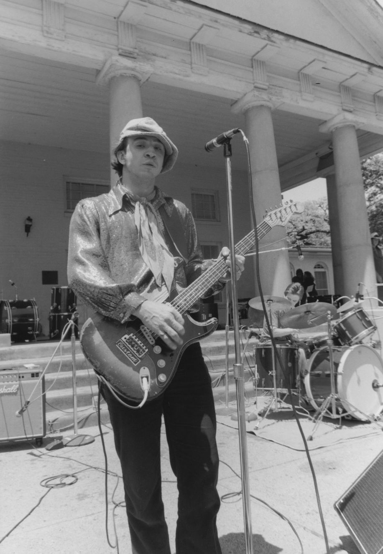 Stevie Ray Vaughan performed at a free Freddie King memorial concert in Lee Park in 1980.
