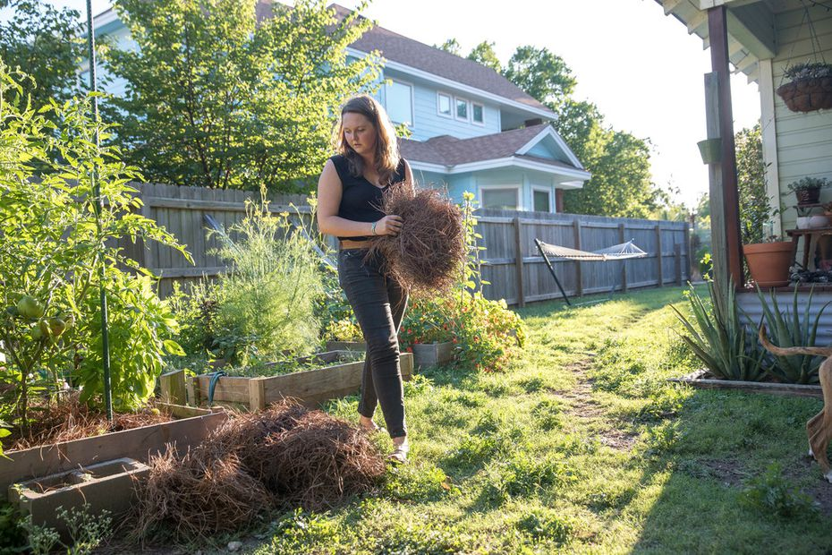 Since her spinal surgery, Liv Cannon has been able to work in the garden and play with her energetic dogs without the prospect of hours or days of pain.