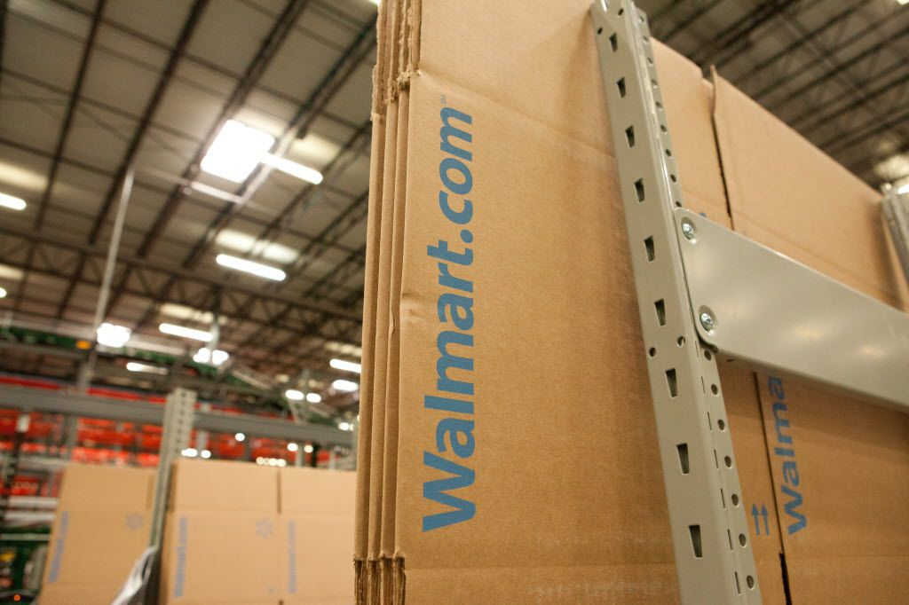 Walmart.com has two fulfillment centers in Fort Worth that are dedicated to its e-commerce side.