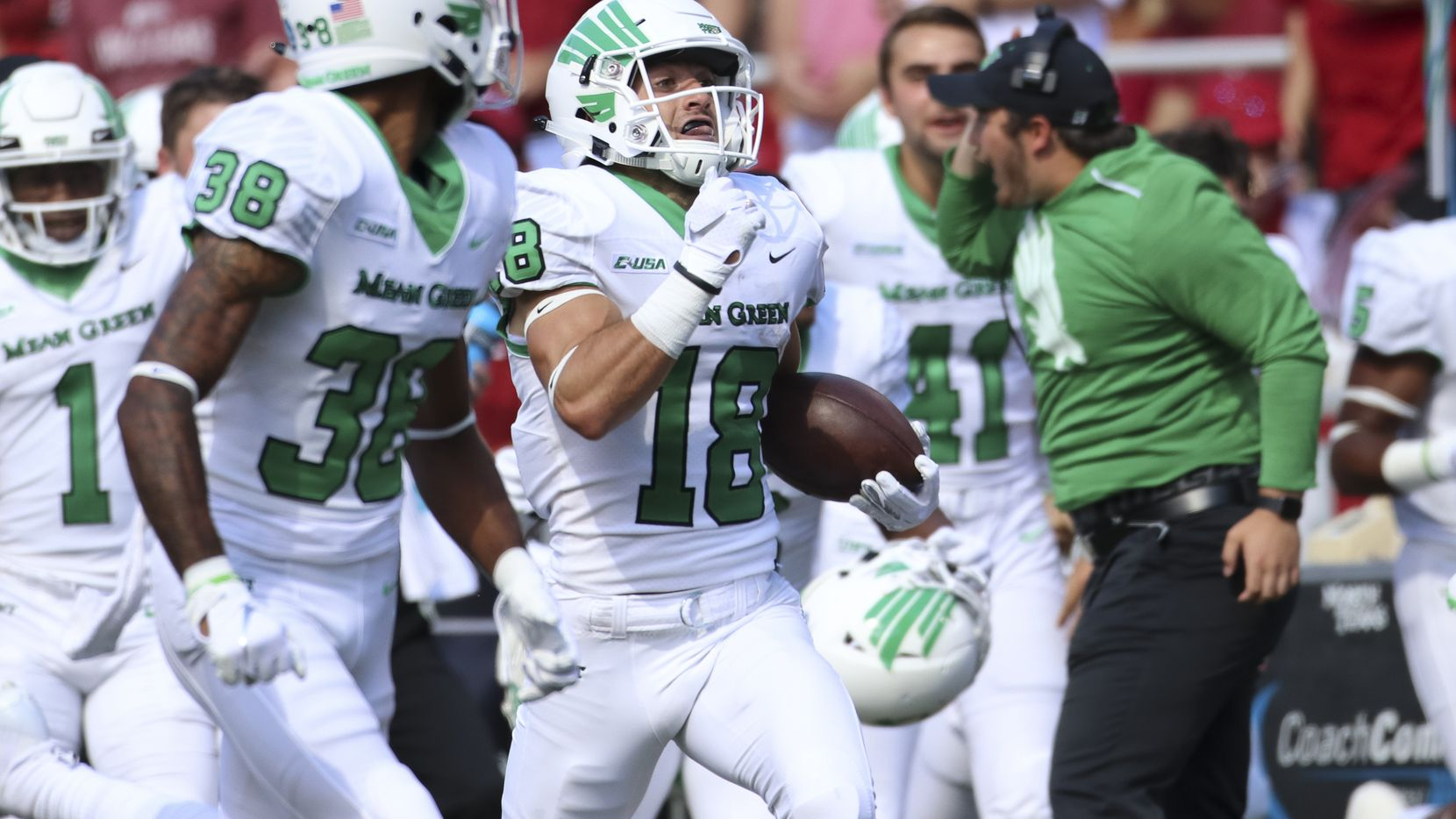 quality design b0f15 fc863 A hero of the North Texas football season now set to become ...