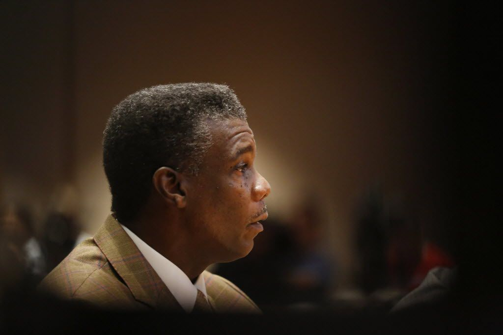 Former Dallas County Health and Human Services Director Zachary Thompson spoke during a Dallas County Commissioners Court special meeting in October 2014 to discuss whether to request that the governor declare a local emergency because of the Ebola crisis.