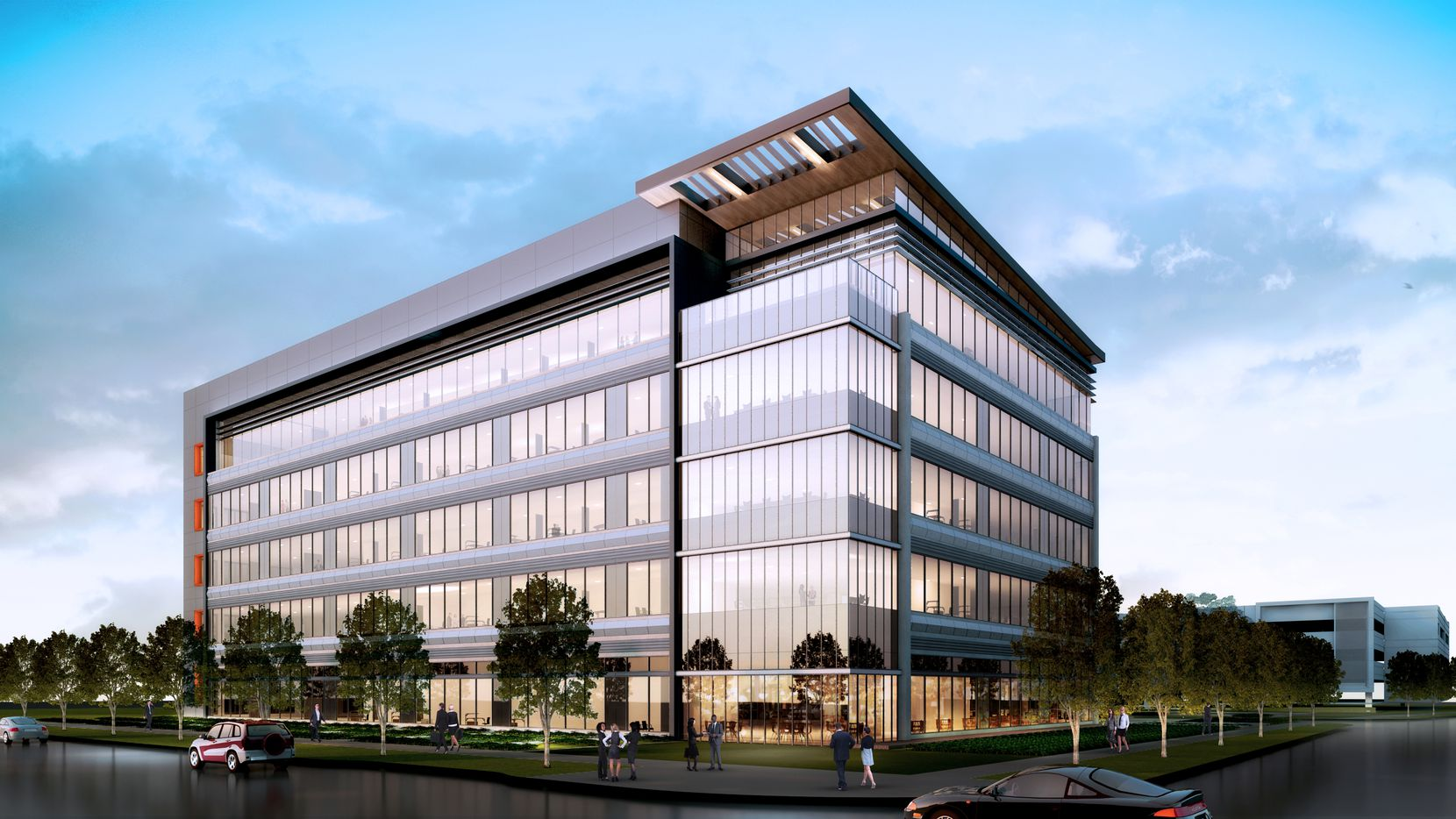 The One Bethany office project will open next year in Allen.