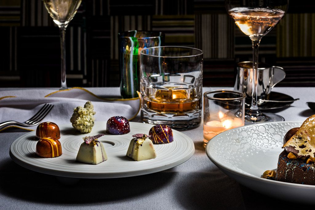 Desserts at Mirador (Photo by Manny Rodriguez)