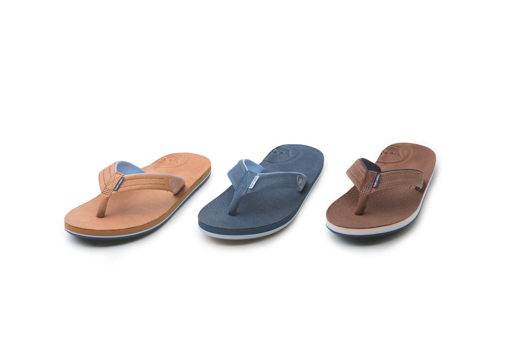 The Hari Mari-Peter Millar sandals are $125 and available in three colors.
