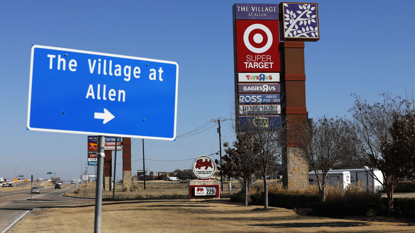 The Village at Allen shopping center sold to a New York investor for $170 million.