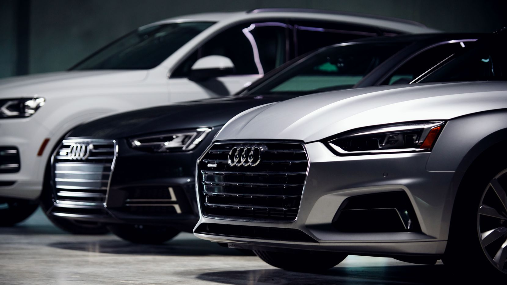 What's it like to have a garage full of Audis? It was great.