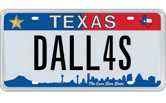 My Plates Texas >> 50 Texas Themed Specialty License Plates Up For Auction In April