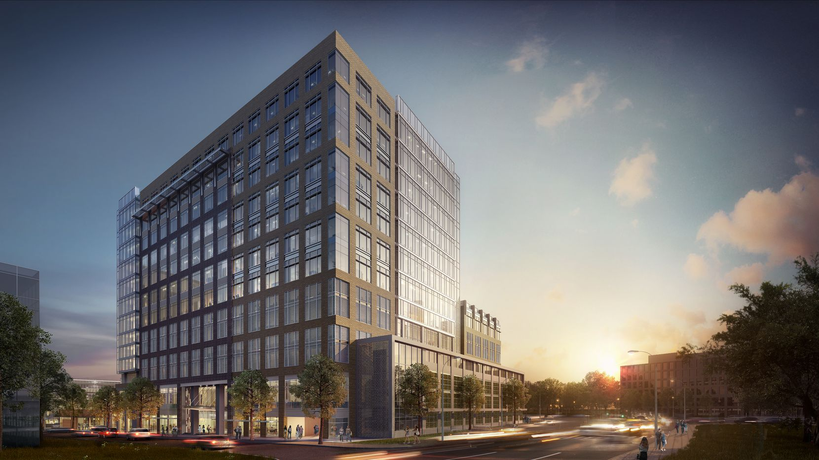 New Dallas office tower on the way at Park Lane development