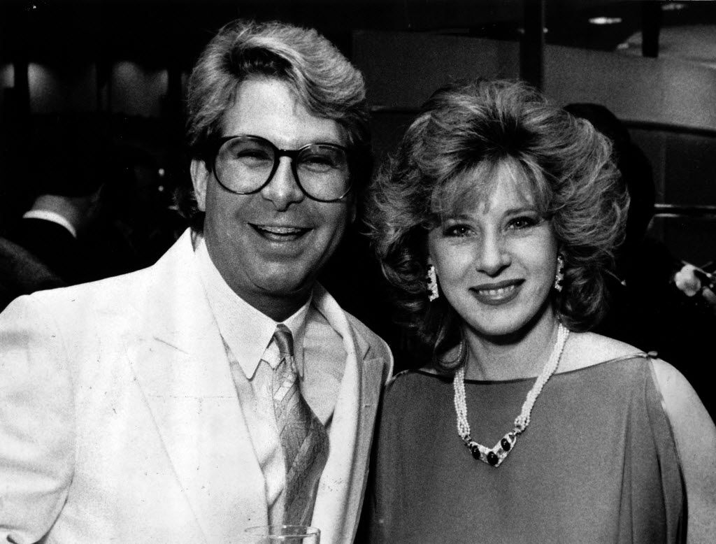 Paul Neinast with Delilah Boyd in 1987