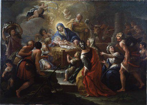 Paolo de Matteis 'The Adoration of the Shepherds,' 1680-1728