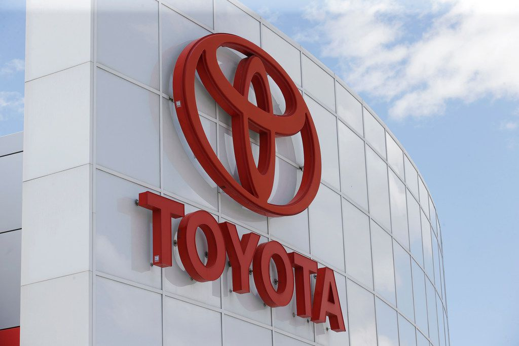 This Tuesday, June 13, 2017, photo, shows the Toyota logo at Mark Miller Toyota in Salt Lake City. Toyota is the top brand in Consumer Reports' annual vehicle reliability rankings. Toyota Motor Co.'s luxury Lexus brand is second, followed by Kia, Audi and BMW. (AP Photo/Rick Bowmer)
