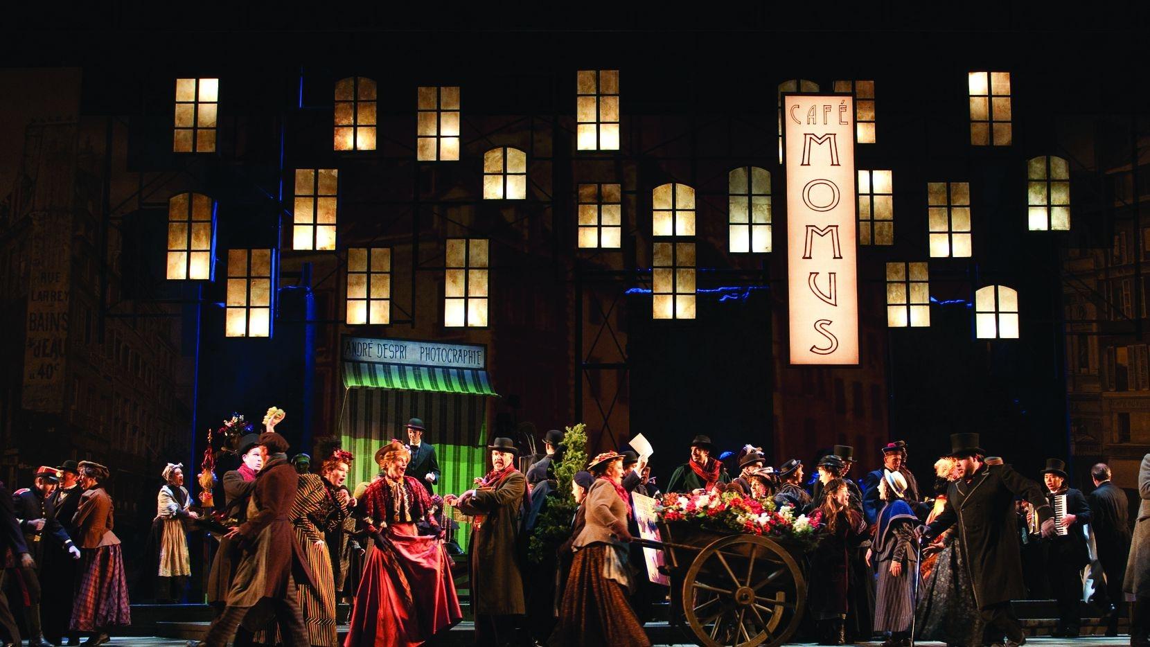 A performance of La bohème.