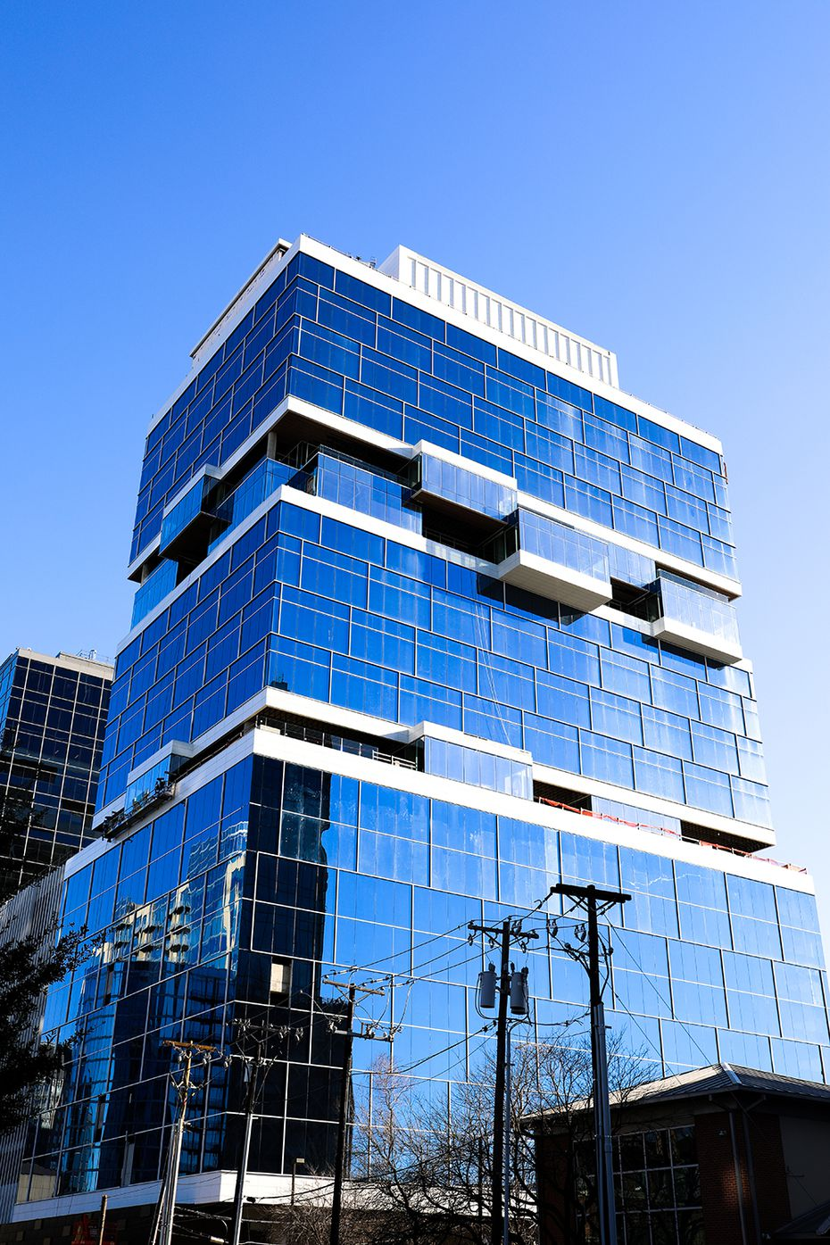 Harwood International's newest tower, Harwood No. 10, is about 65% leased.