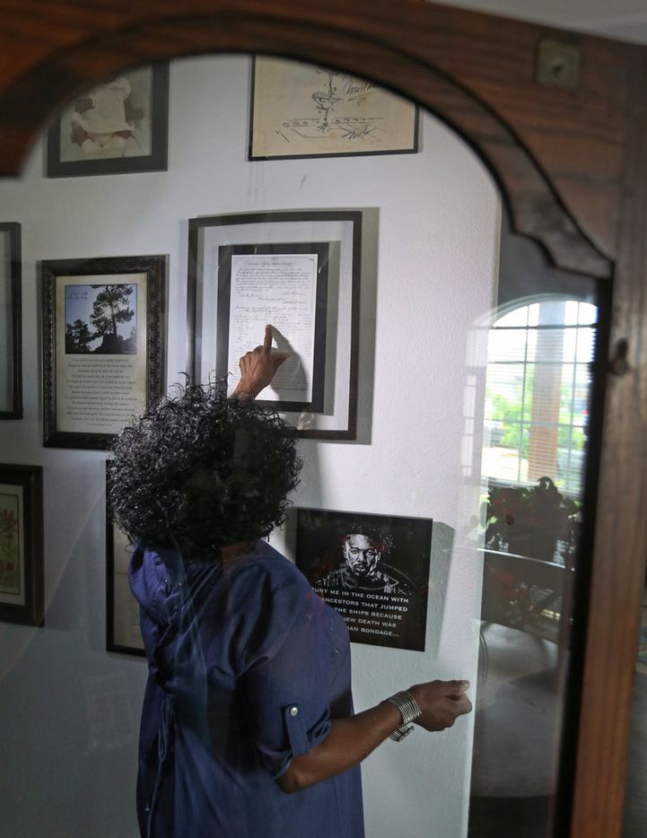 """""""A lot of my story is unpleasant,"""" Wanell House says,  """"but it's my story."""""""