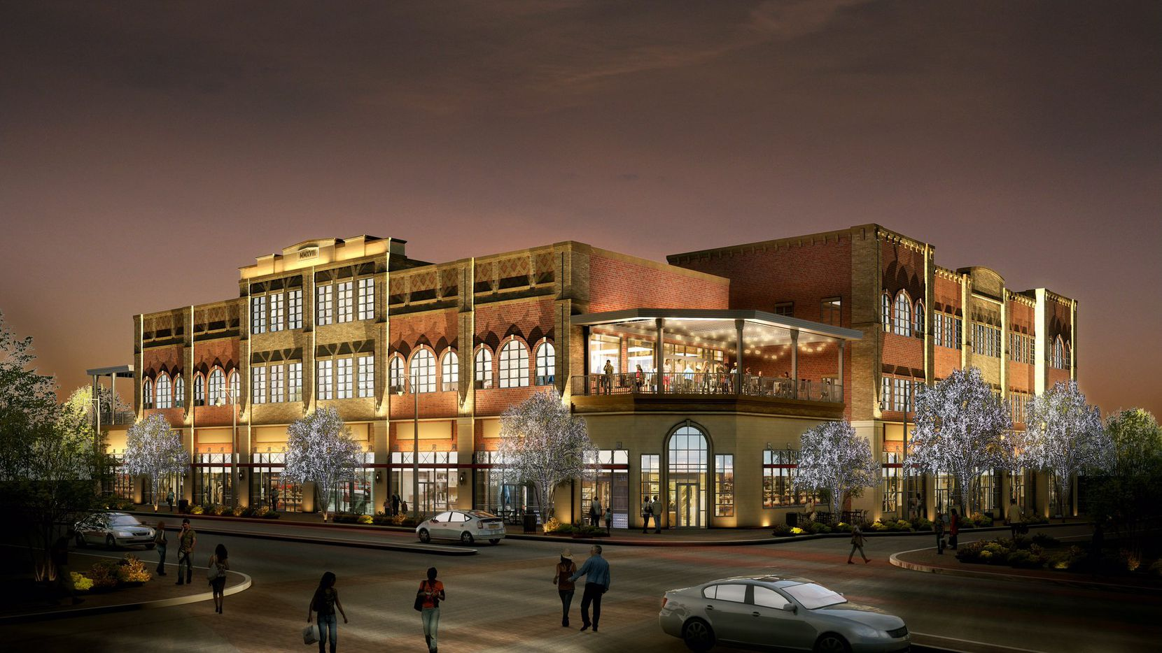 The Patios at the Rail project will include restaurant, retail and office space.