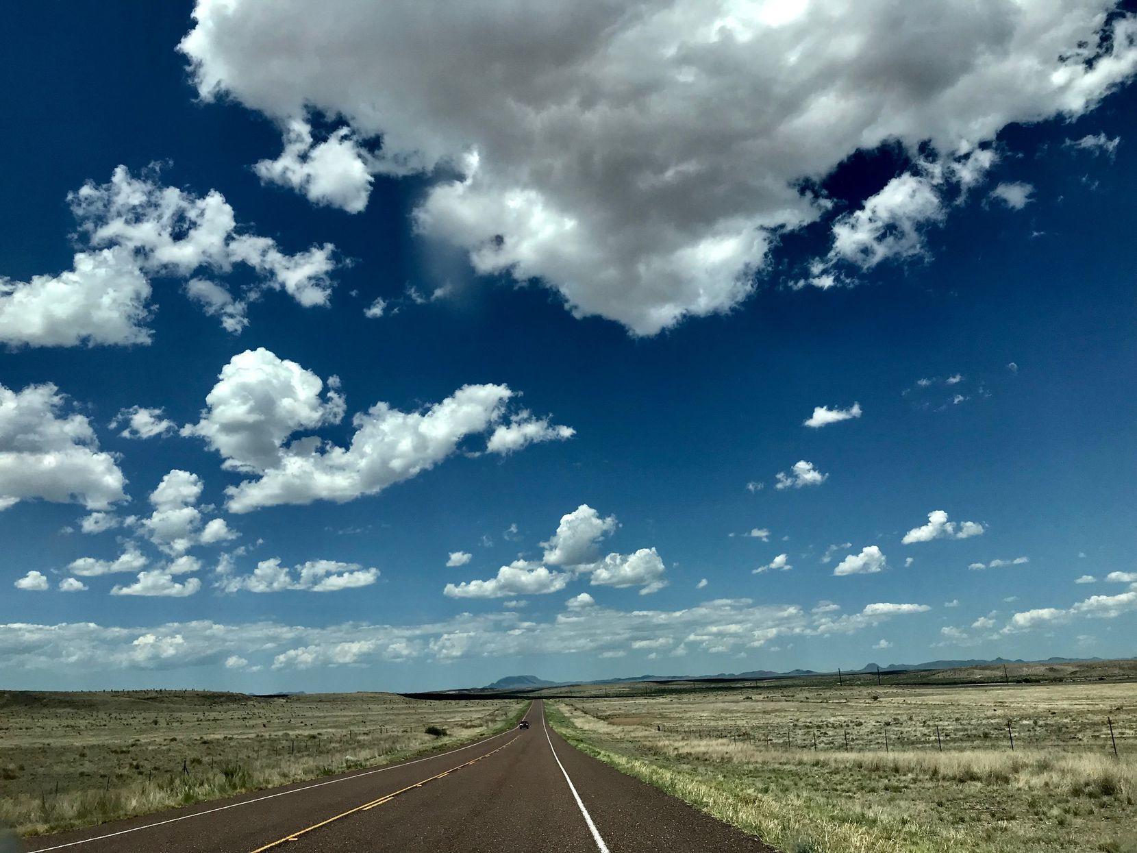 La región del Oeste de Texas, frontera entrre Estados Unidos y México.DMN