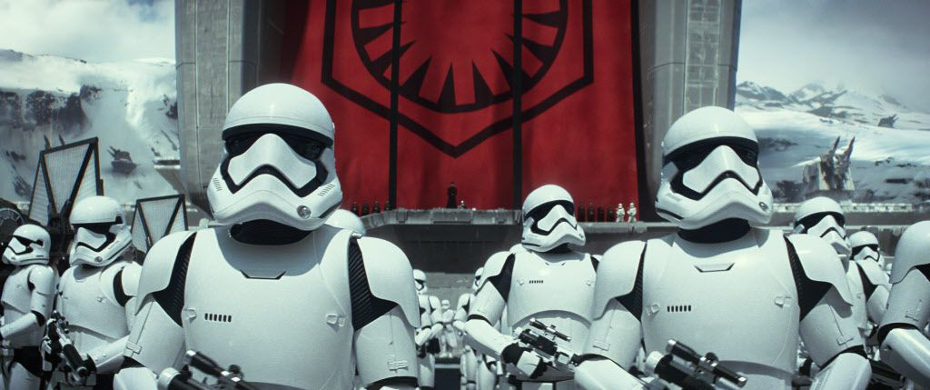 """A scene from the new film, """"Star Wars: The Force Awakens"""" The movie releases in the U.S. on Dec. 18, 2015."""