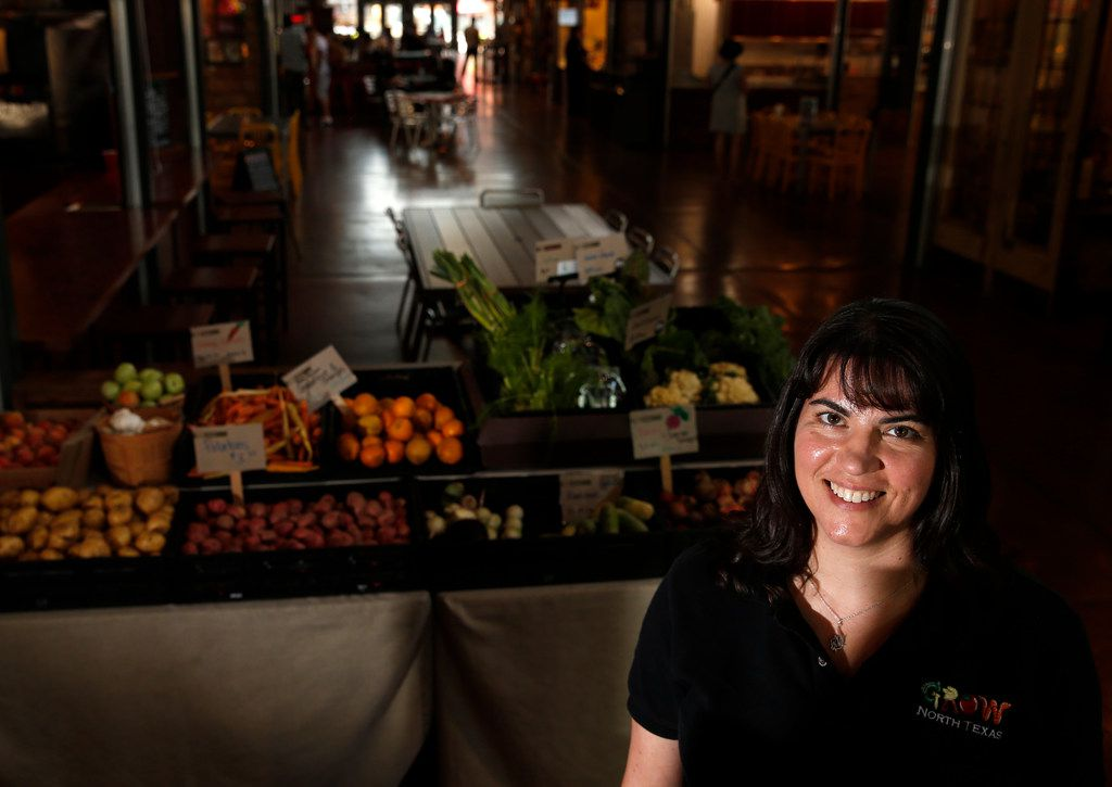 Susie Marshall is executive director of Grow North Texas, which manages the SNAP token system at the Dallas Farmers Market.