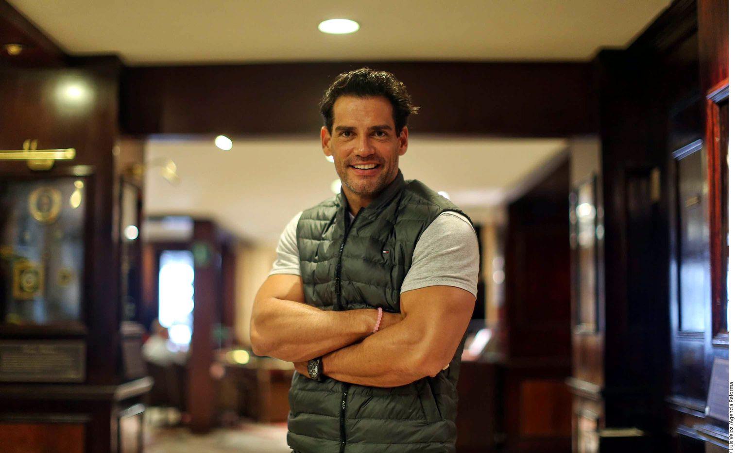 El actor chileno Cristián de la Fuente/AGENCIA REFORMA