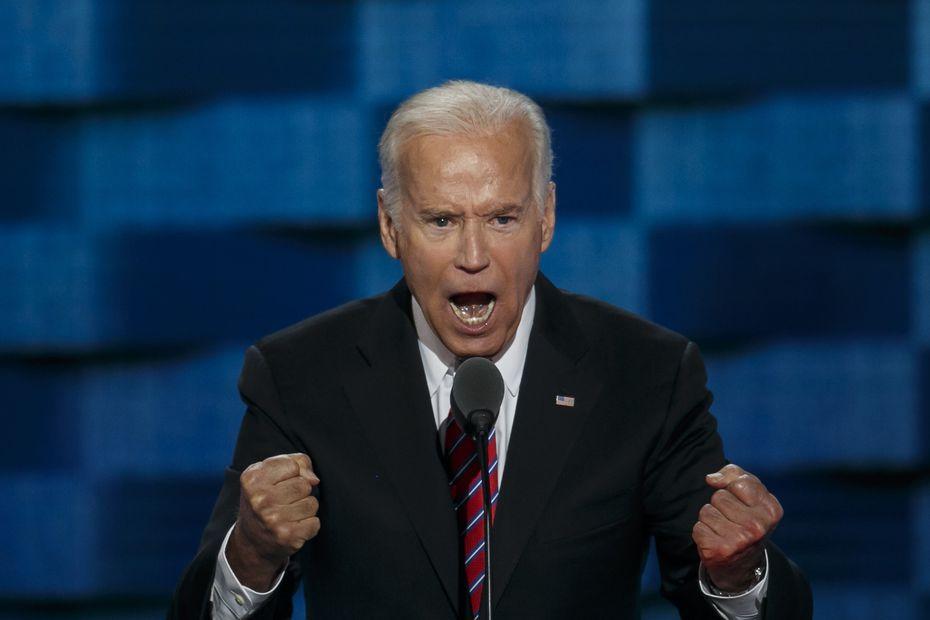 Vice President Joe Biden slammed GOP presidential nominee Donald Trump on Wednesday.